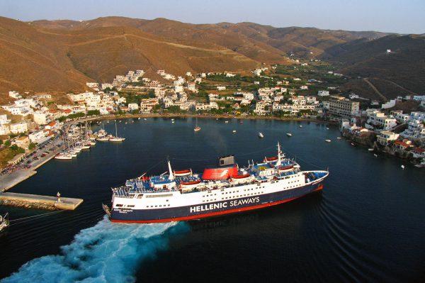 Kythnos port