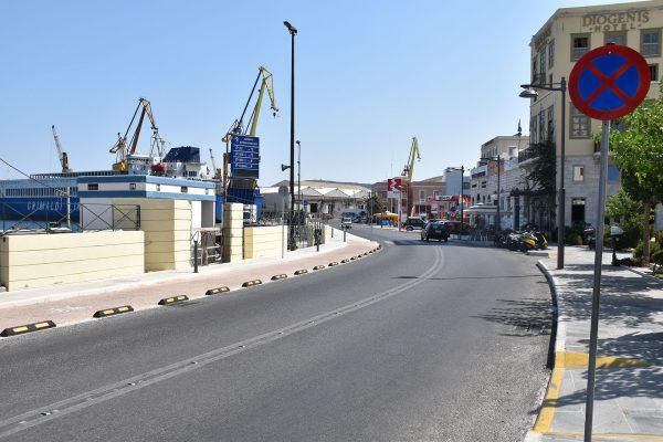 Ανάπλαση παράκτιας ζώνης Ερμούπολης