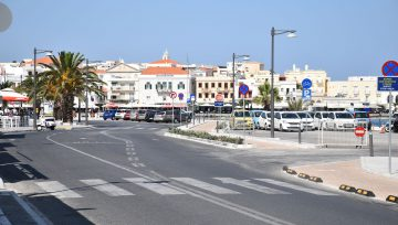 Επαναλειτουργία ανοιχτού χώρου προσωρινής στάθμευσης οχημάτων