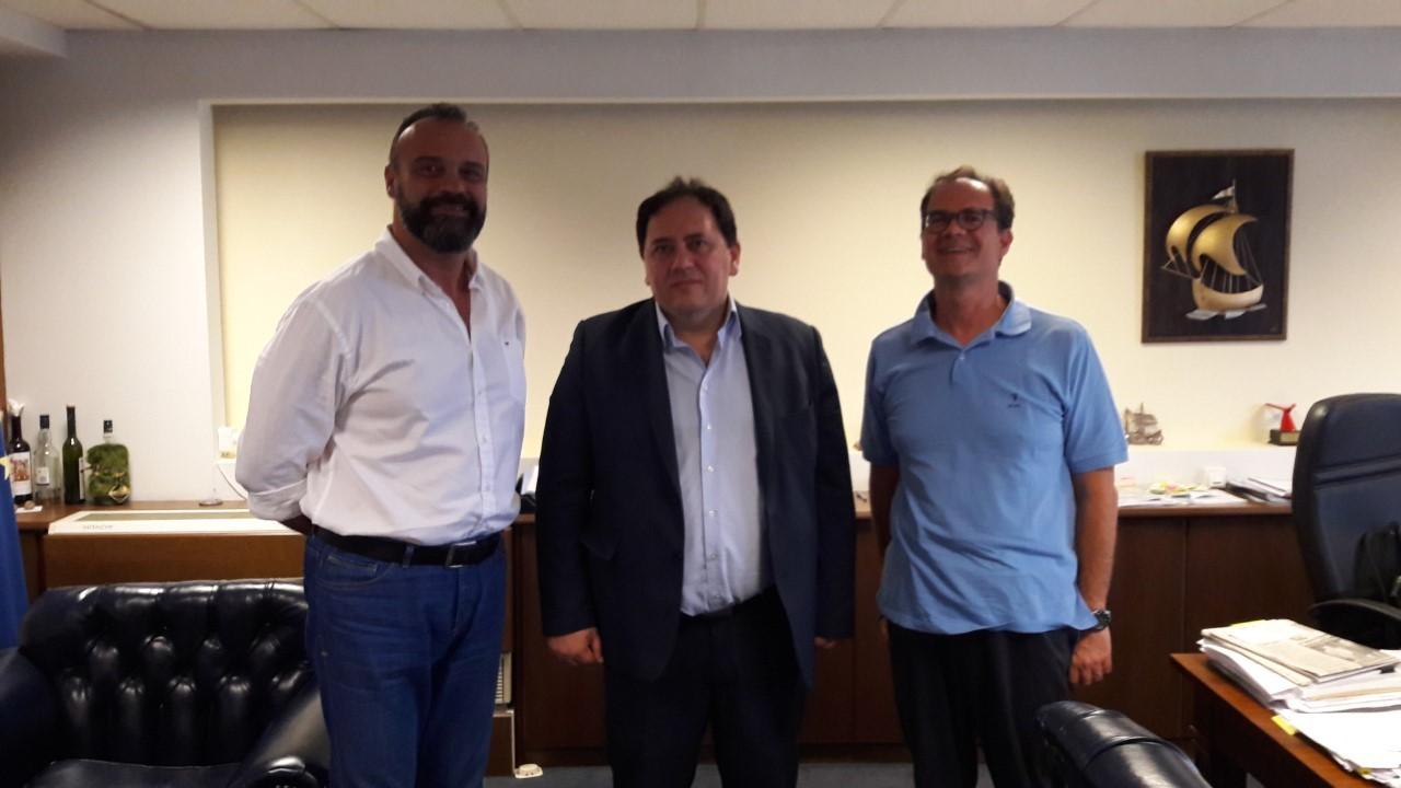 Σύσκεψη στο Υπουργείο Ναυτιλίας και Νησιώτικης Πολιτικής